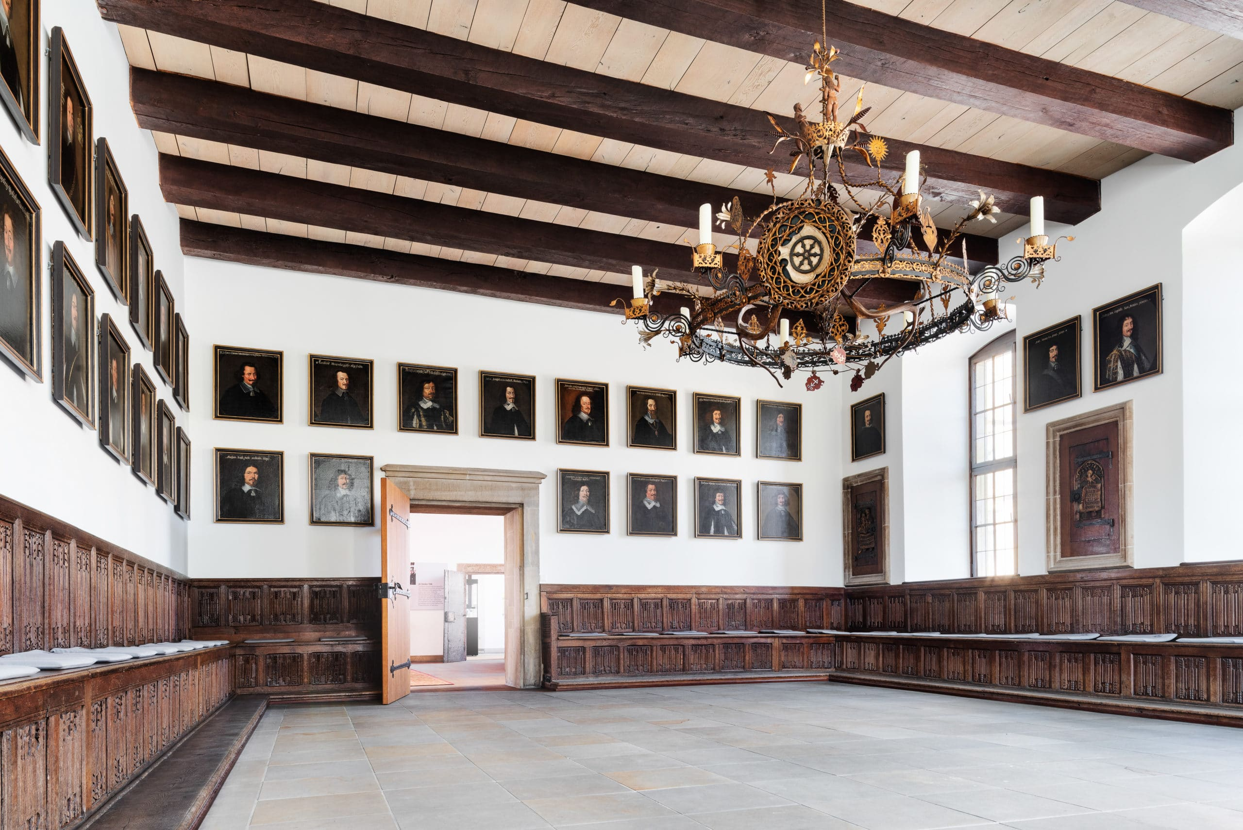 Innenaufnahme vom Friedenssaal des Rathaus Osnabrück |Architekturfotograf in der Region Osnabrück Münster Bielefeld für besondere Architekturaufnahmen