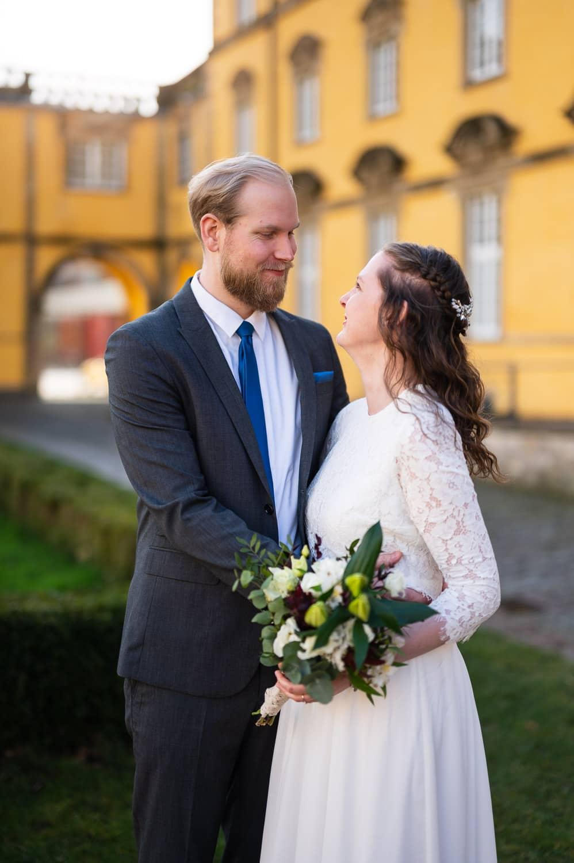 Johanna & Oliver - Eine Hochzeit zu zweit im Schloss