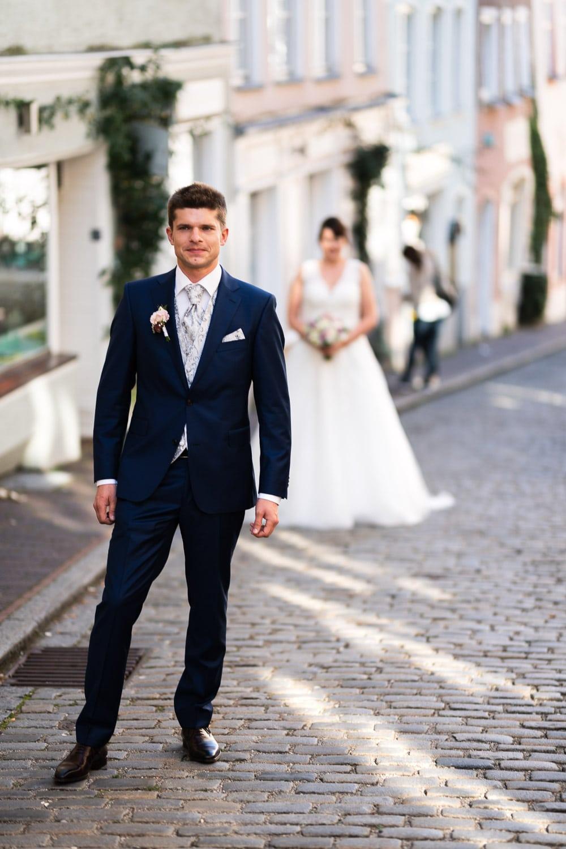 Hochzeitsfotograf Münster - First Look