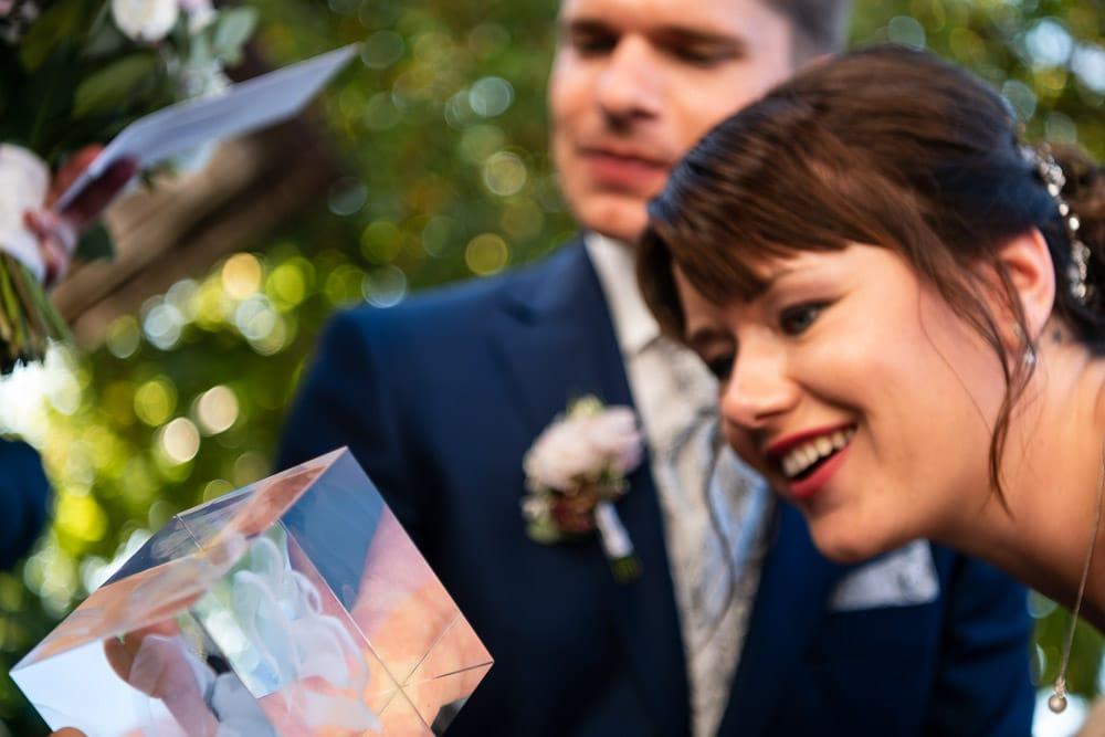 Hochzeitsgeschenk 3D Gravur