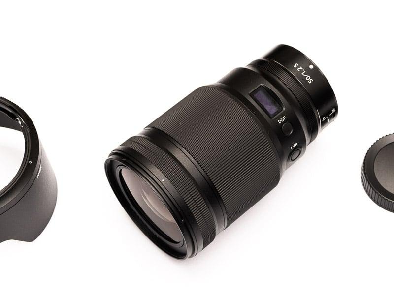Nikon Nikkor Z 50mm f/1.2 S: Ein erster Praxis Test (Vorderseite)